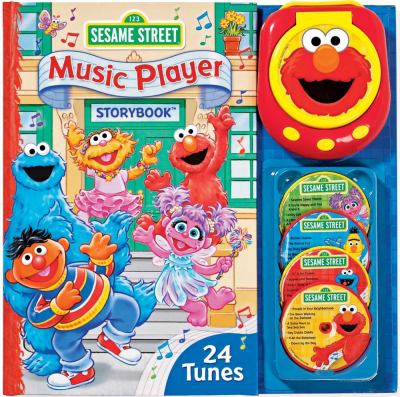Sesame Street Music Player Storybook [With Music Player and 4 CDs] 9780794413637