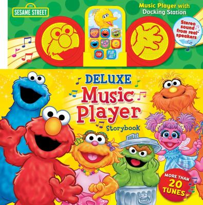 Sesame Street Deluxe Music Player Storybook 9780794422912