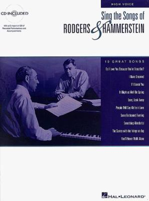 Sing the Songs of Rodgers and Hammerstein: High Voice [With *] 9780793583522