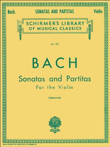 Bach: Sonatas and Partitas for Violin Solo