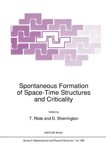 Spontaneous Formation of Space-Time Structures and Criticality 9780792314523