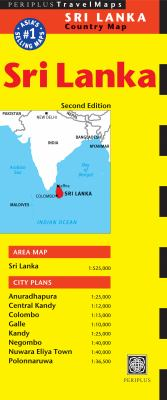 Sri Lanka Country Map 9780794605261