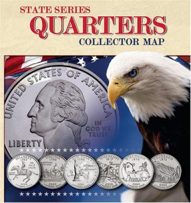 State Series Quarter Collector Map 9780794821944