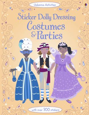Sticker Dolly Dressing Costumes & Parties 9780794531348