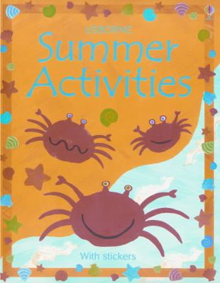 Summer Activities [With Stickers] 9780794503987