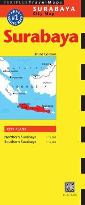 Surabaya City Map 9780794602260
