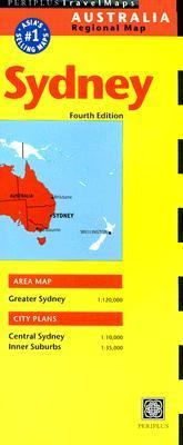 Sydney Australia Regional Map 9780794603618
