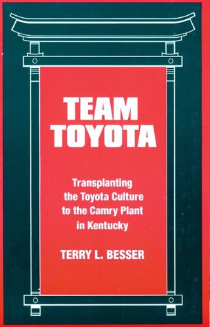 Team Toyota: Transplanting the Toyota Culture to the Camry Plant in Kentucky 9780791431467