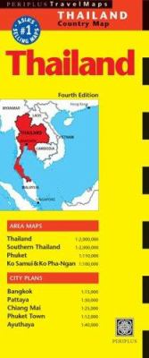 Thailand Travel Map 4th Edition 9780794603496