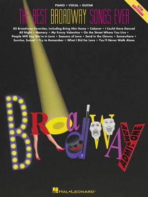 The Best Broadway Songs Ever 9780793506286