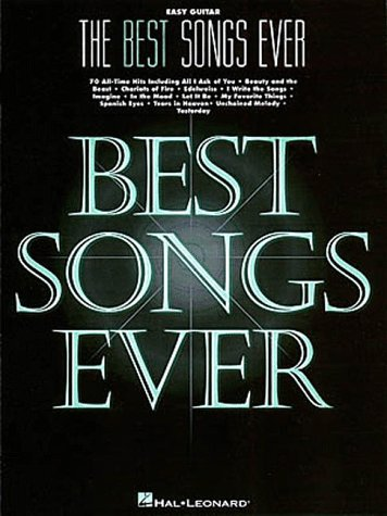 The Best Songs Ever, Easy Guitar 9780793584970
