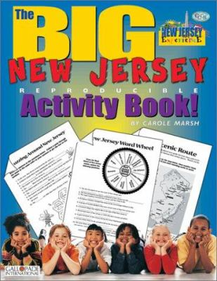 The Big New Jersey Activity Book! 9780793394630