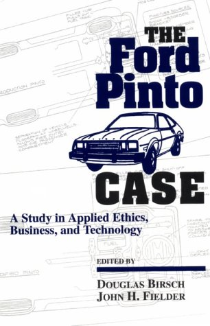 case of ford pinto The ford pinto case and human life value jordi granés puig - in 1968, ford was  losing the us car market against smaller and cheaper.