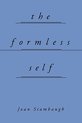 The Formless Self 9780791441503