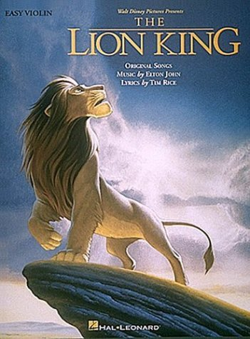 The Lion King - Easy Violin 9780793540167