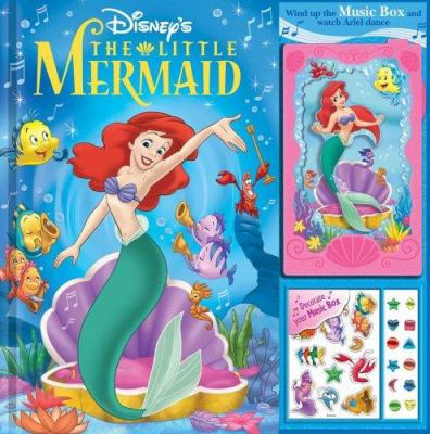 The Little Mermaid Storybook and Music Box 9780794411336