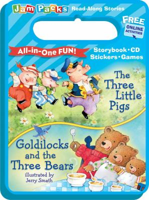 The Three Little Pigs and Goldilocks and the Three Bears: Storybook, CD and Activities 9780794419851