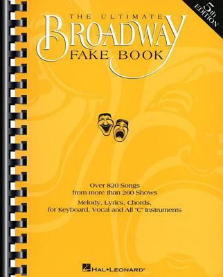 The Ultimate Broadway Fake Book 9780793582594