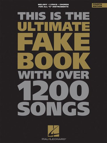 The Ultimate Fake Book: C Edition 9780793529391