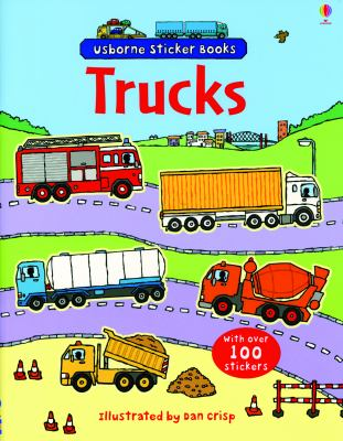 Trucks [With Over 100 Stickers] 9780794521110