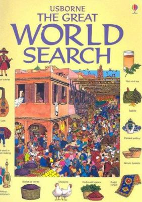 Usborne the Great World Search (Great Searches (EDC Paperback)) Kamini Khanduri and David Hancock
