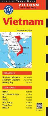 Vietnam Travel Map Seventh Edition 9780794606572