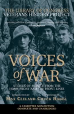 Voices of War Cassette: Stories of Service from the Homefront and the Frontlines 9780792278399