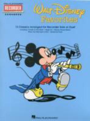 Walt Disney Favorites: Hal Leonard Recorder Songbook Series 9780793564828