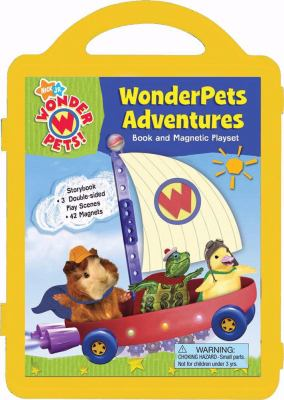 Wonderpets Adventures: Book and Magnetic Playset [With 42 Magnets] 9780794418632