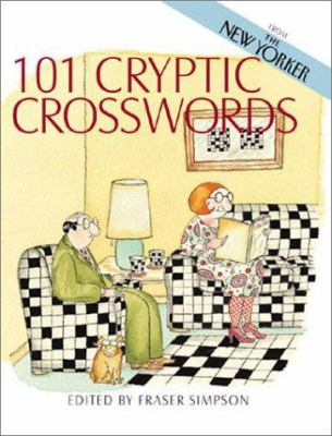 101 Cryptic Crosswords: From the New Yorker 9780806901862