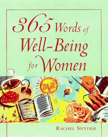 365 Words of Well-Being for Women 9780809230792