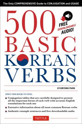 500 Basic Korean Verbs 9780804842051