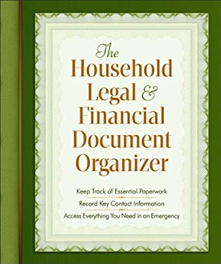 The Household Legal and Financial Document Organizer 9780800720193