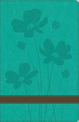 Personal Size Giant Print Bible-GW-Flower 9780801014482