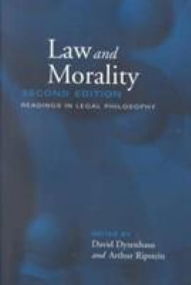 Law and Morality: Readings in Legal Philosophy 9780802084477