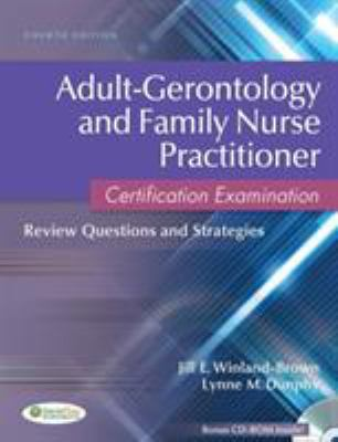 Family and Adult-Gerontolgical Nurse Practitioner Certification Examination: Review Questions and Strategies 9780803627048