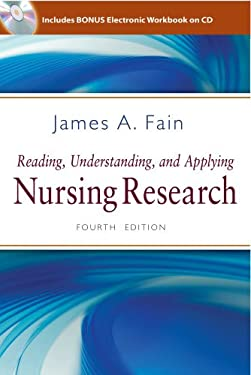 Reading, Understanding, and Applying Nursing Research 9780803627383