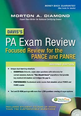 Davis's PA Exam Review: Focused Review for the PANCE and PANRE 9780803629516