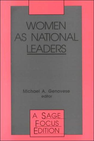 Women as National Leaders 9780803943384