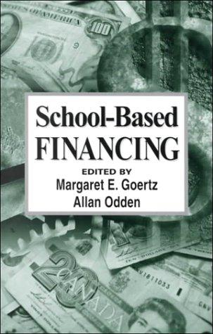 School-Based Financing: Yaefa 20 9780803967793