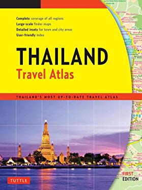 Thailand Travel Atlas 9780804841931