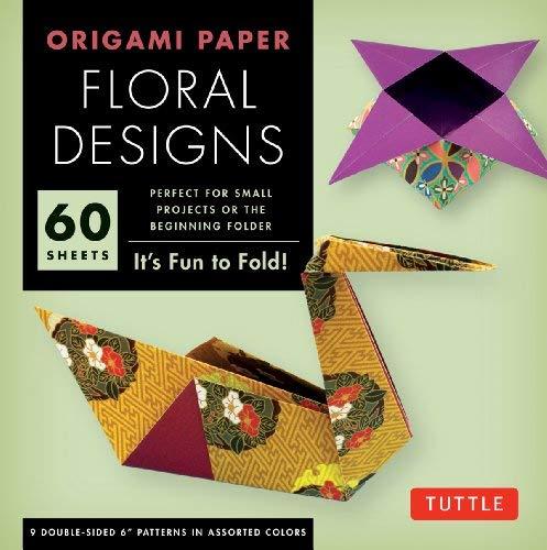 Origami Paper Floral Designs 6