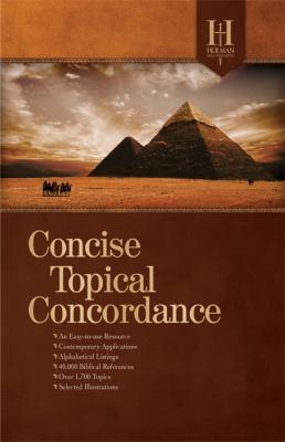 Holman Concise Topical Concordance 9780805495492