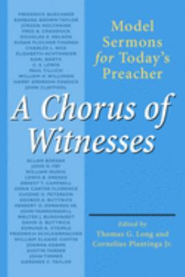 A Chorus of Witnesses 9780802801326