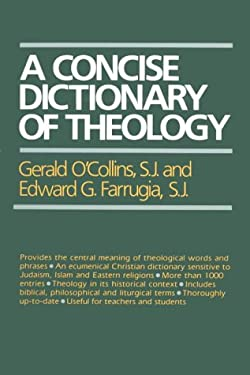 A Concise Dictionary of Theology 9780809132355