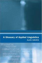 A Glossary of Applied Linguistics