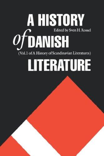 A History of Danish Literature 9780803238862