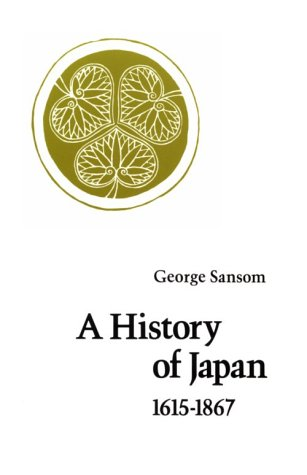 A History of Japan, 1615-1867 9780804705271