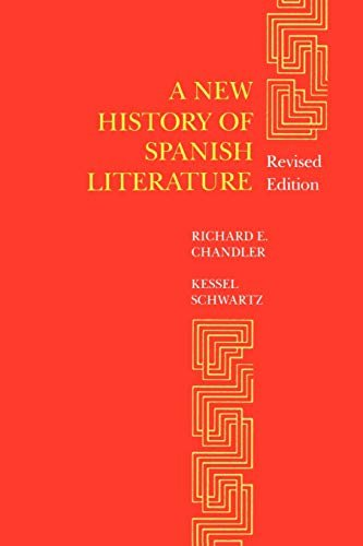 A New History of Spanish Literature 9780807117354