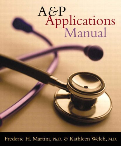 A&P Applications Manual 9780805372861